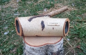 RoxBox hand made bluetooth speaker